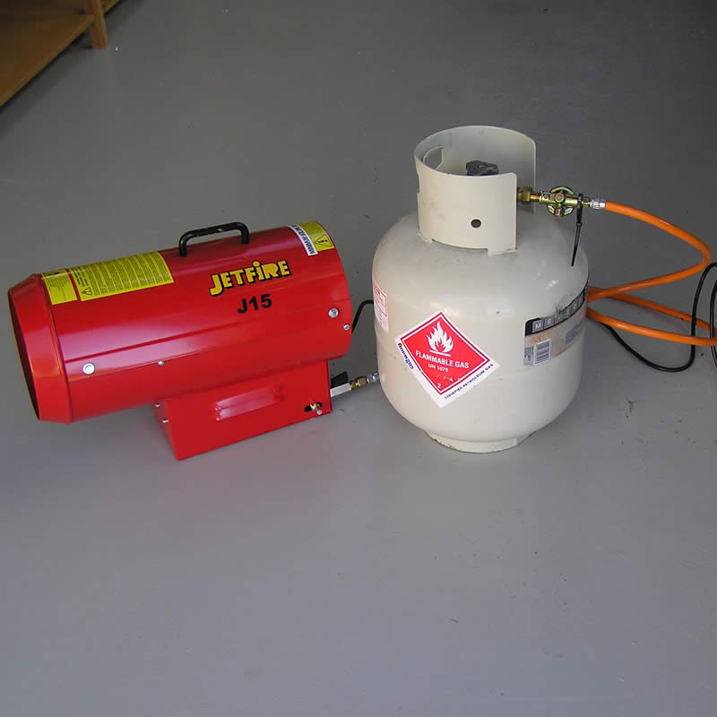 Lpg Gas Bottle Heater